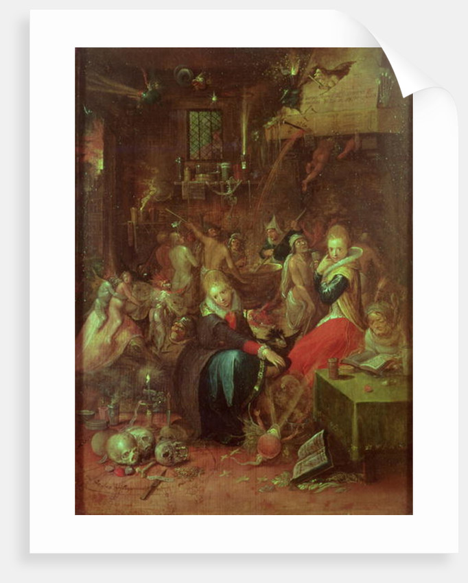 The Witches' Sabbath by Frans II the Younger Francken