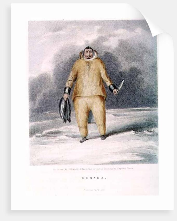 Kunana, an eskimo by Sir John Ross