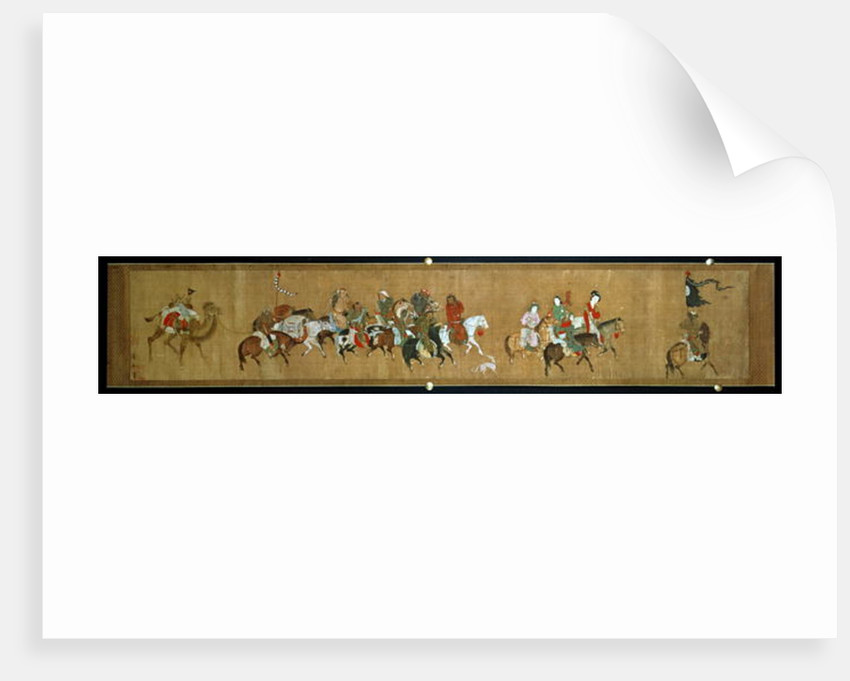 A convoy of Mongols, Chinese by Anonymous