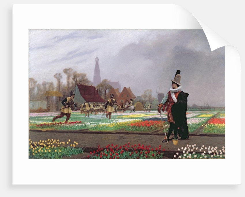The Tulip Folly by Jean Leon Gerome