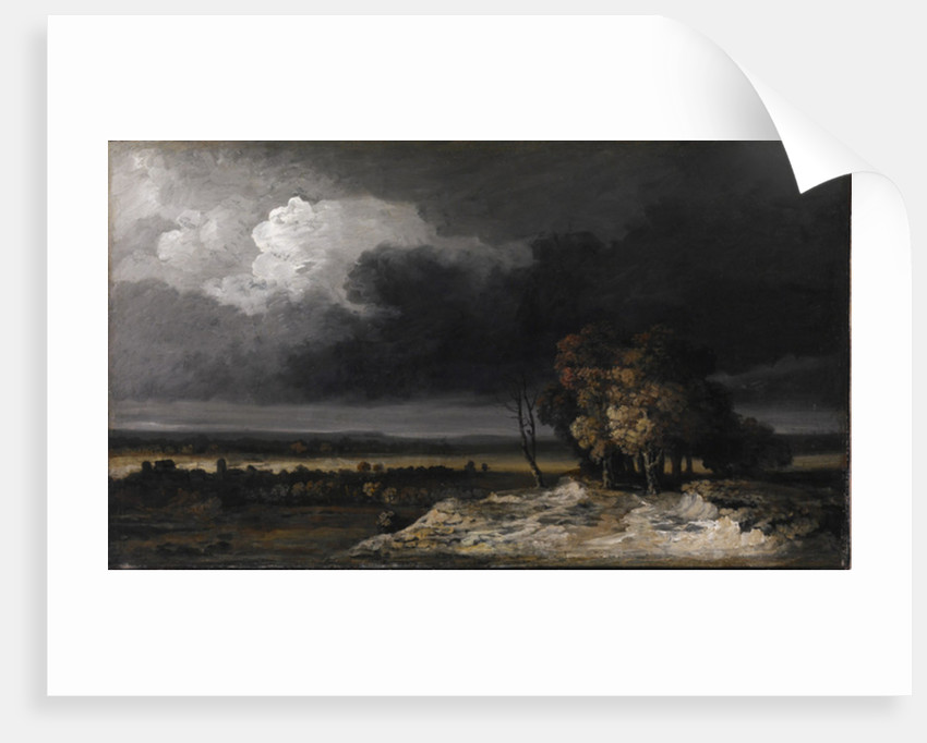 Gathering Storm, c.1830-9 by Georges Michel