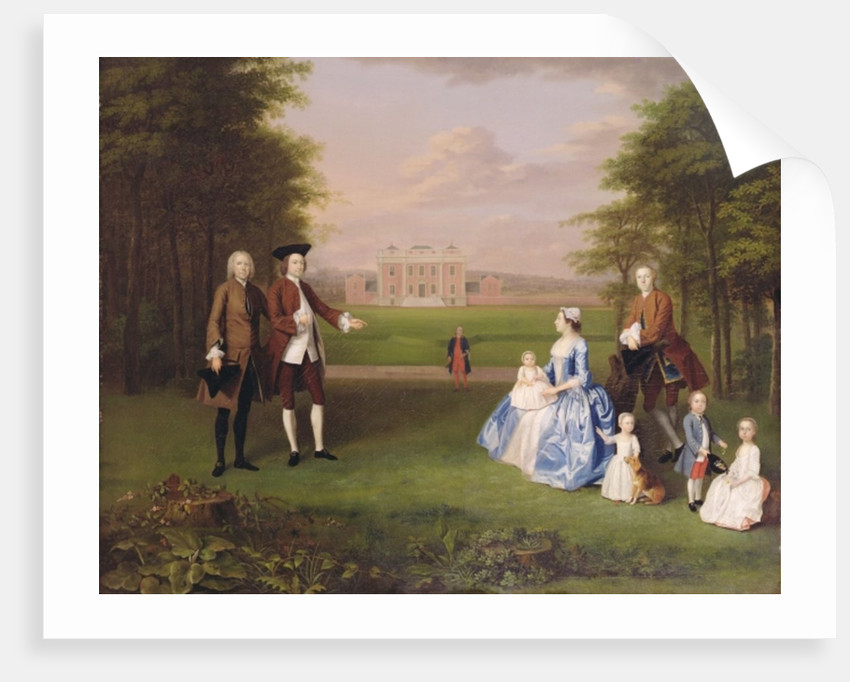 Robert Gwillym of Atherton and his Family by Arthur Devis
