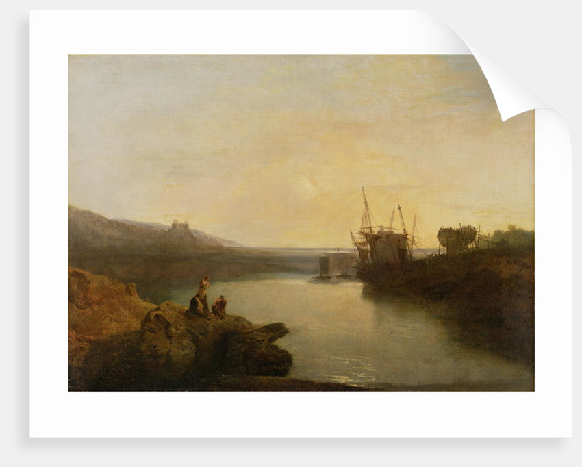 Harlech Castle by Joseph Mallord William Turner
