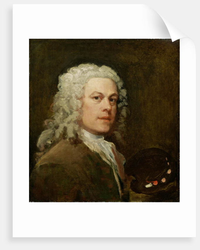 Self Portrait by William Hogarth