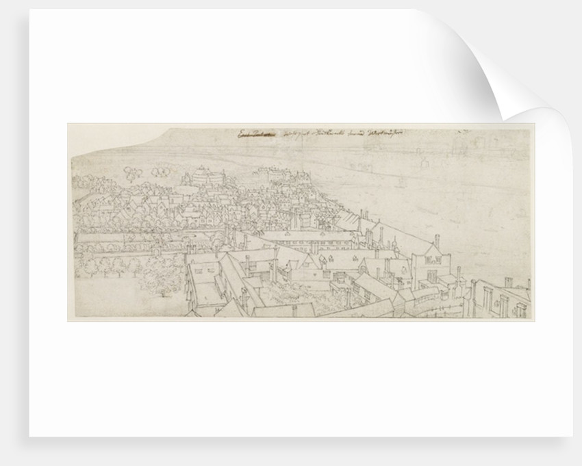 A View from St. Mary's Southwark, Looking Towards Westminster by Wenceslaus Hollar
