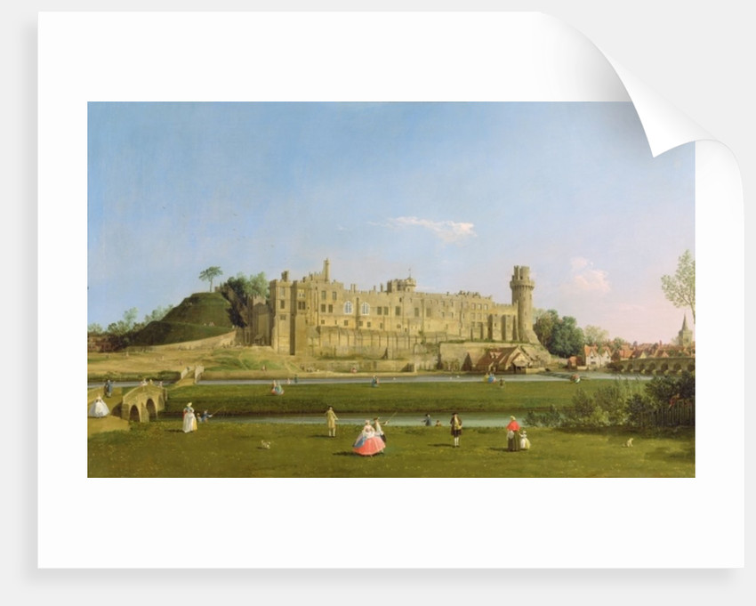Warwick Castle by Canaletto