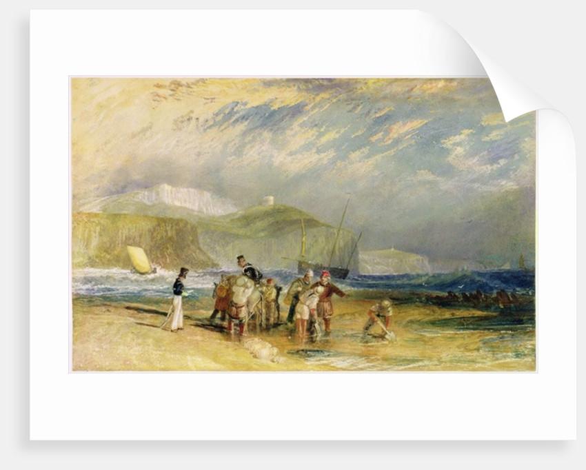 Folkestone Harbour and Coast to Devon by Joseph Mallord William Turner