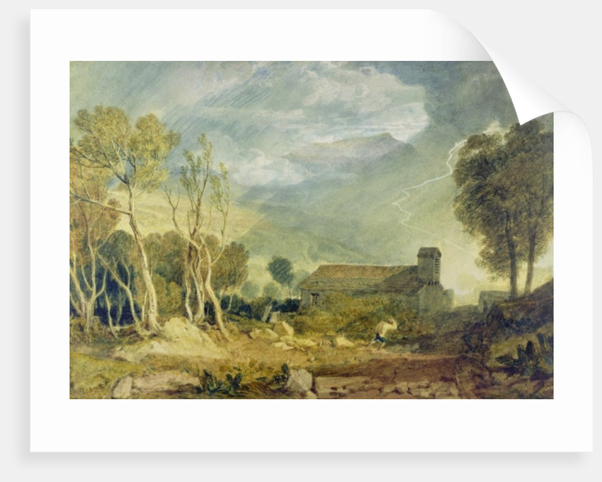 Patterdale Old Church by Joseph Mallord William Turner