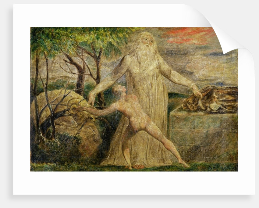 Abraham and Isaac, 1799-1800 by William Blake