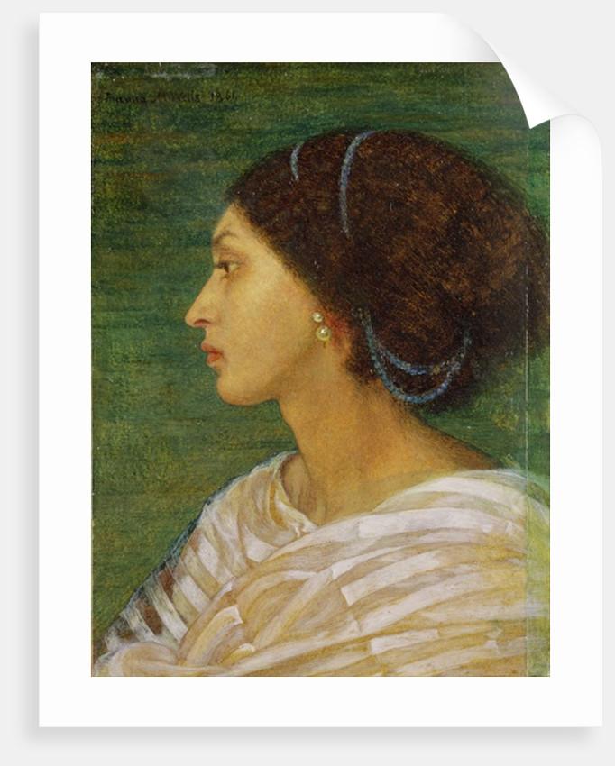 Head of a Mulatto Woman by Joanna Boyce Wells