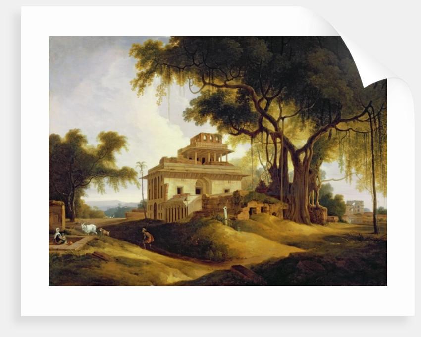 Ruins of the Naurattan, Sasaram, Bihar by Thomas Daniell