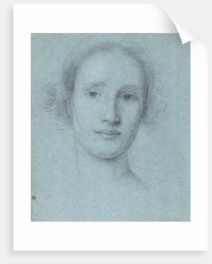 Head of a Girl by Allan Ramsay