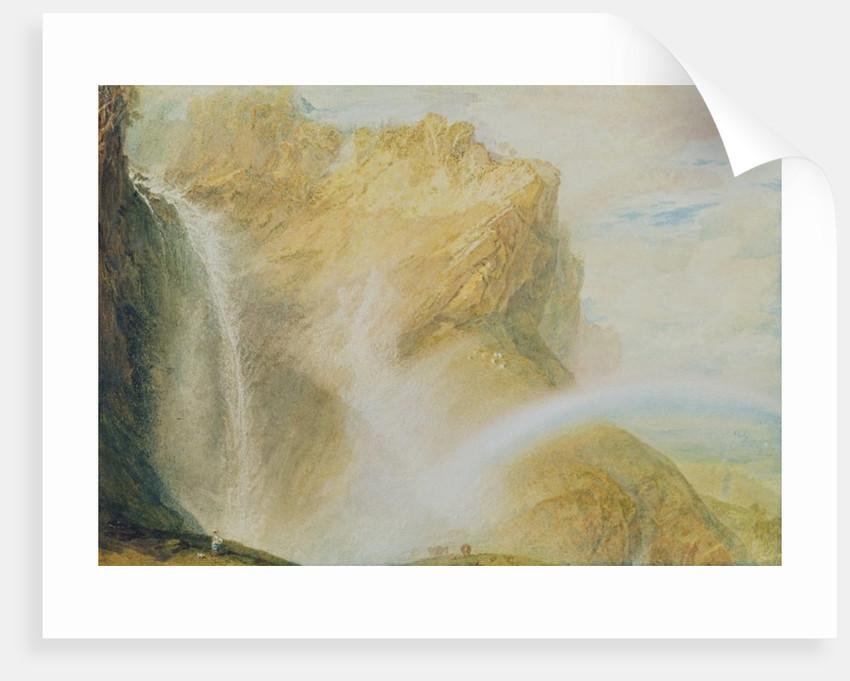 Upper Falls of the Reichenbach by Joseph Mallord William Turner