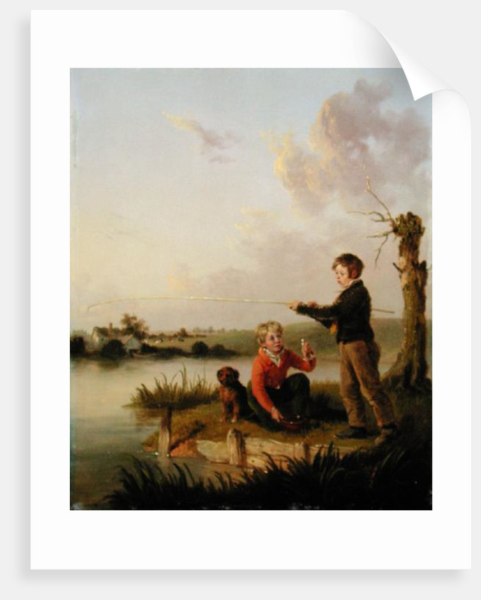 The Young Anglers by Edmund Bristow