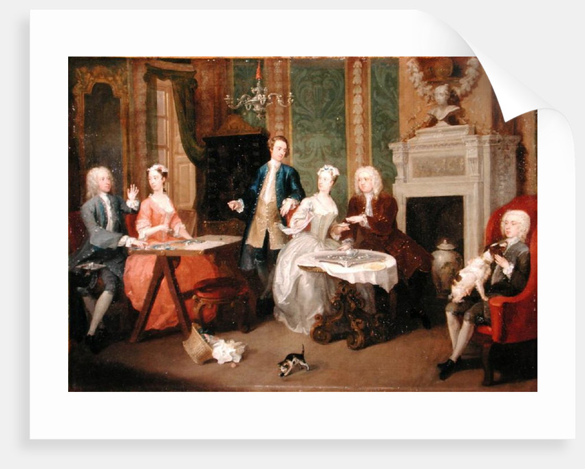 Portrait of a Family by William Hogarth