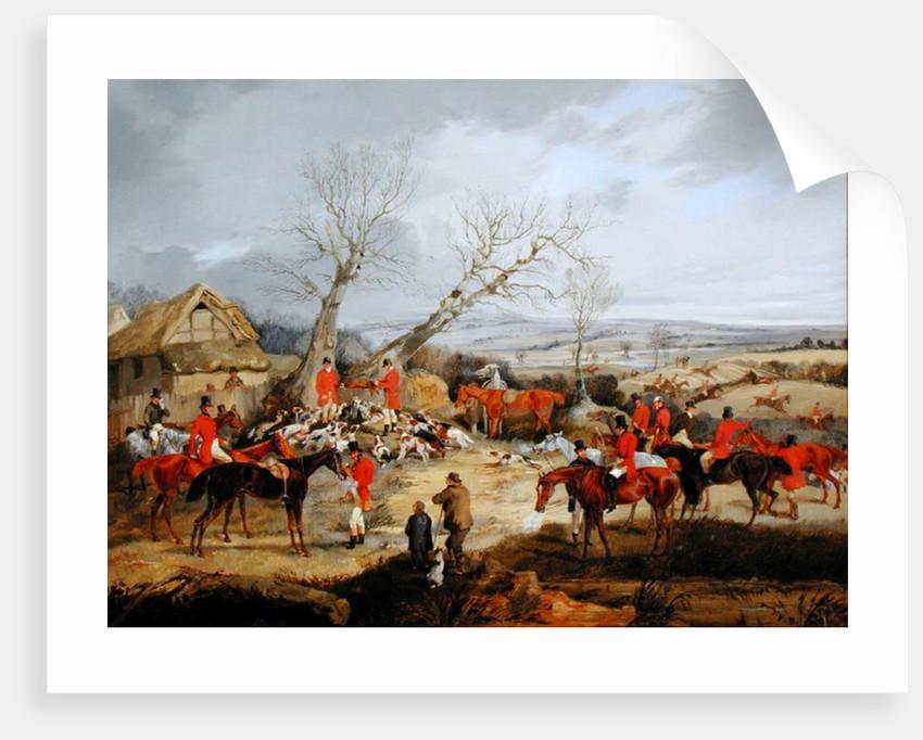 Hunting Scene, The Kill by Henry Thomas Alken