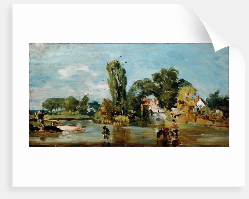 Flatford Mill by John Constable