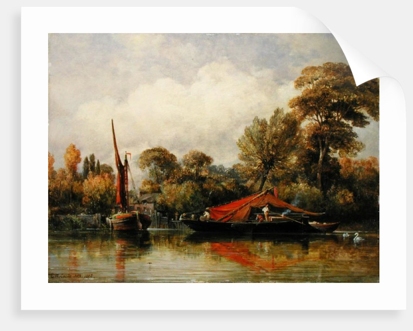 Opposite my House at Barnes by Edward William Cooke