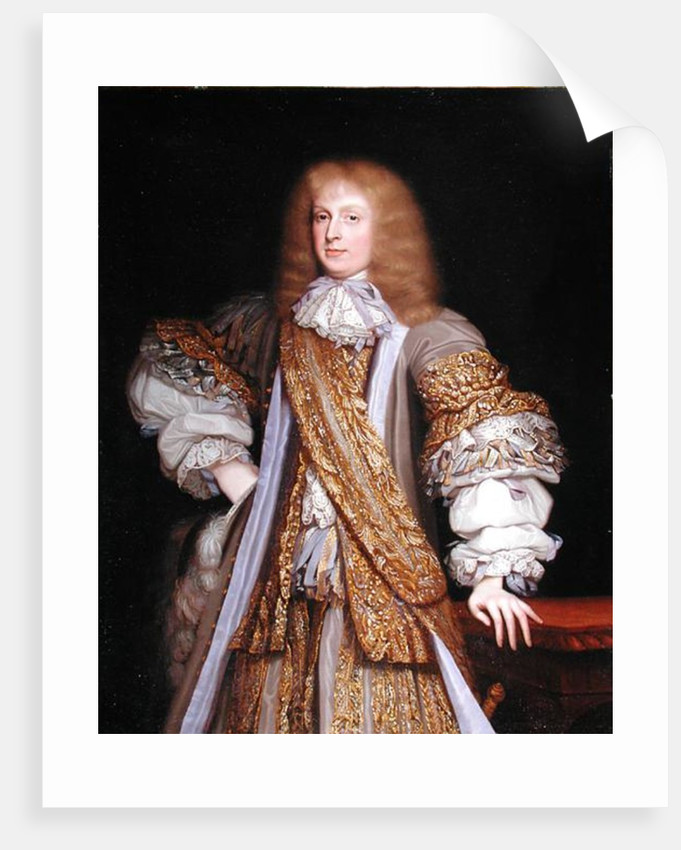 Sir John Corbet of Adderley by John Michael Wright