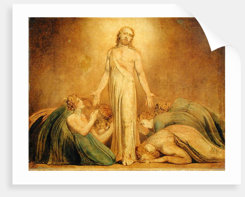 Christ Appearing to the Apostles after the Resurrection by William Blake