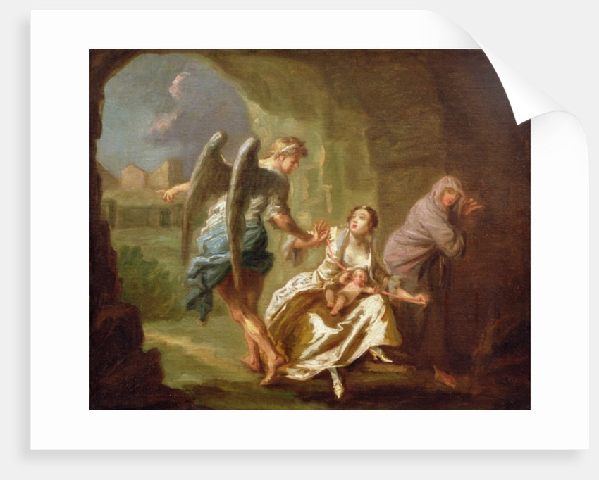 The Angel of Mercy by Joseph Highmore