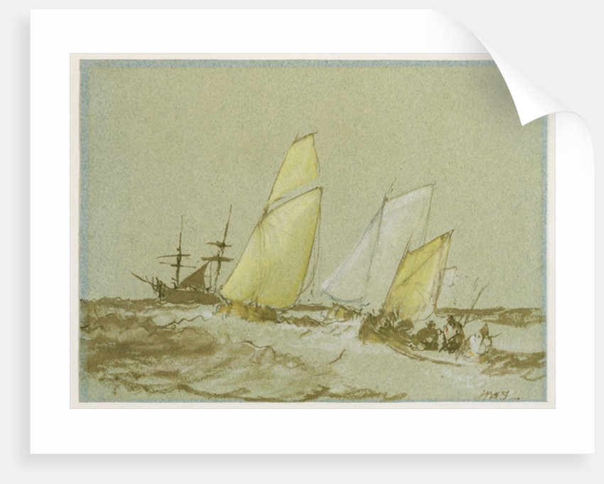 Shipping by Joseph Mallord William Turner