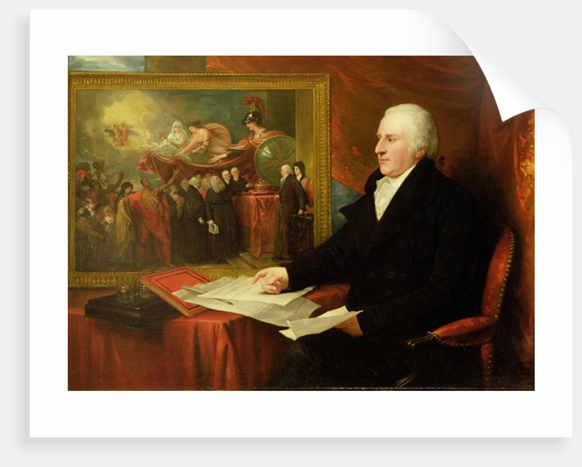 John Eardley Wilmot by Benjamin West