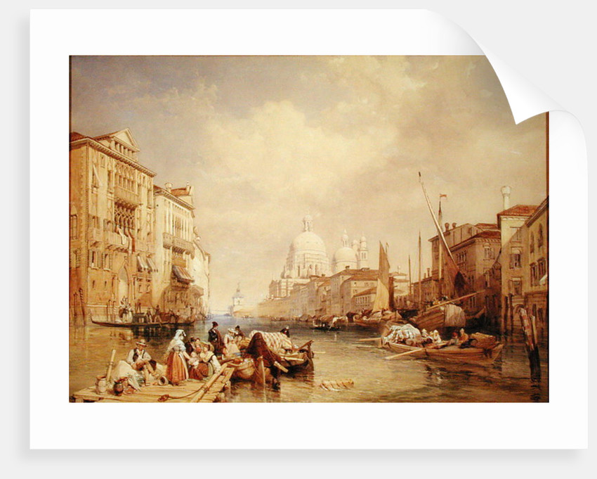 The Grand Canal, Venice by James Duffield Harding