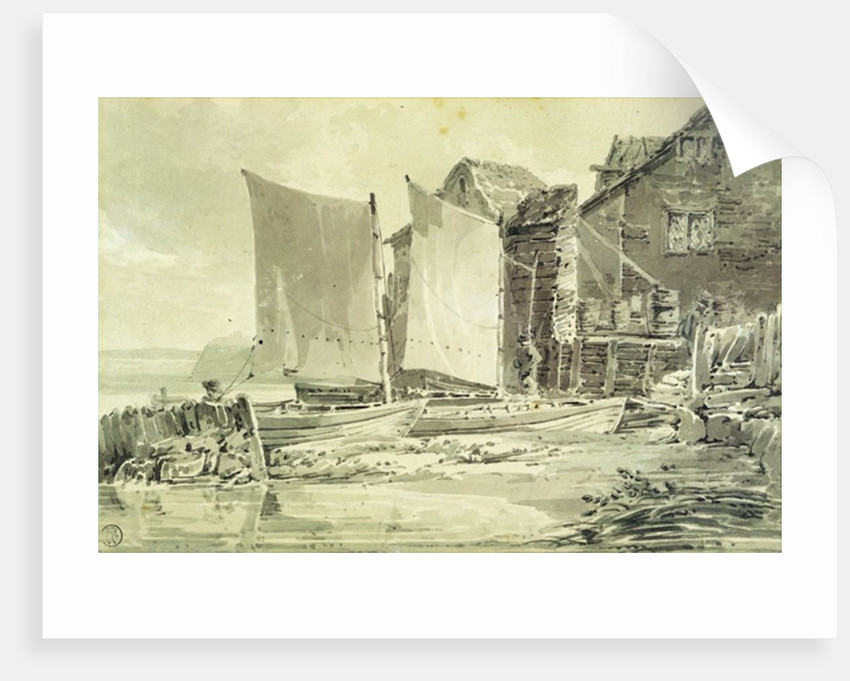 Fisherman's Cottage, Dover by Joseph Mallord William Turner