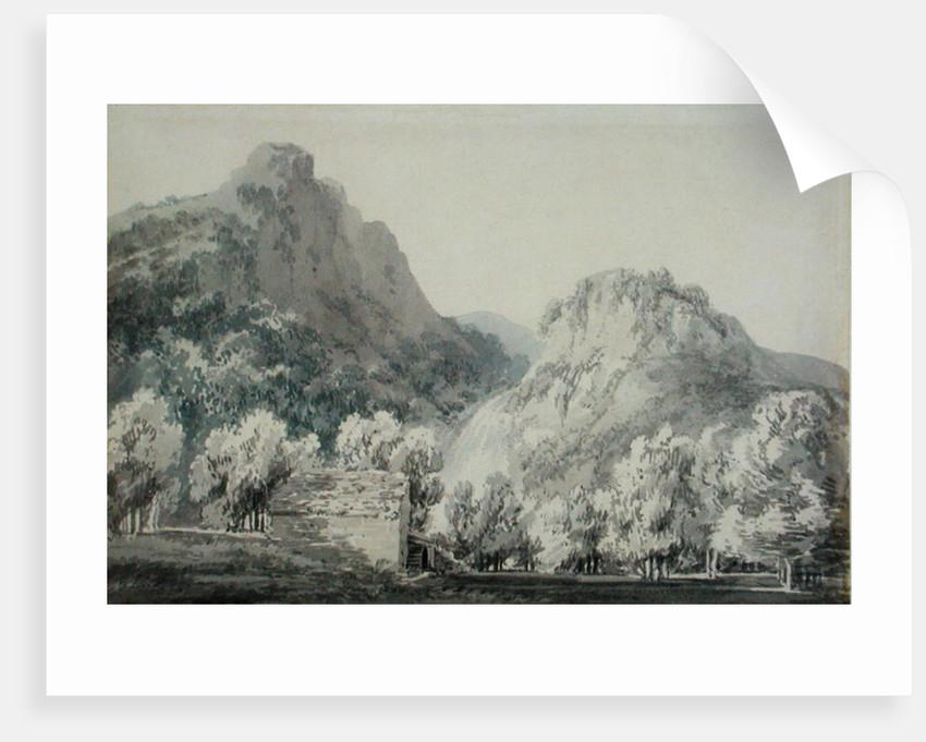 Waterfall at Lodore, Cumberland by Joseph Mallord William Turner