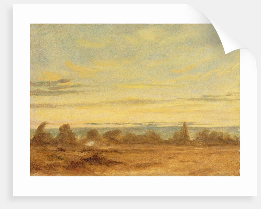 Summer - Evening Landscape by John Constable