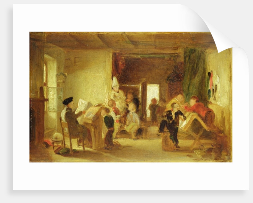A Study for 'The Schoolroom' by Thomas Webster