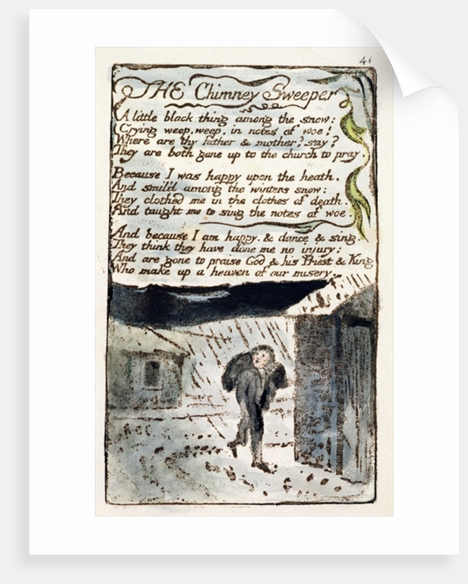 william blake the chimney sweeper