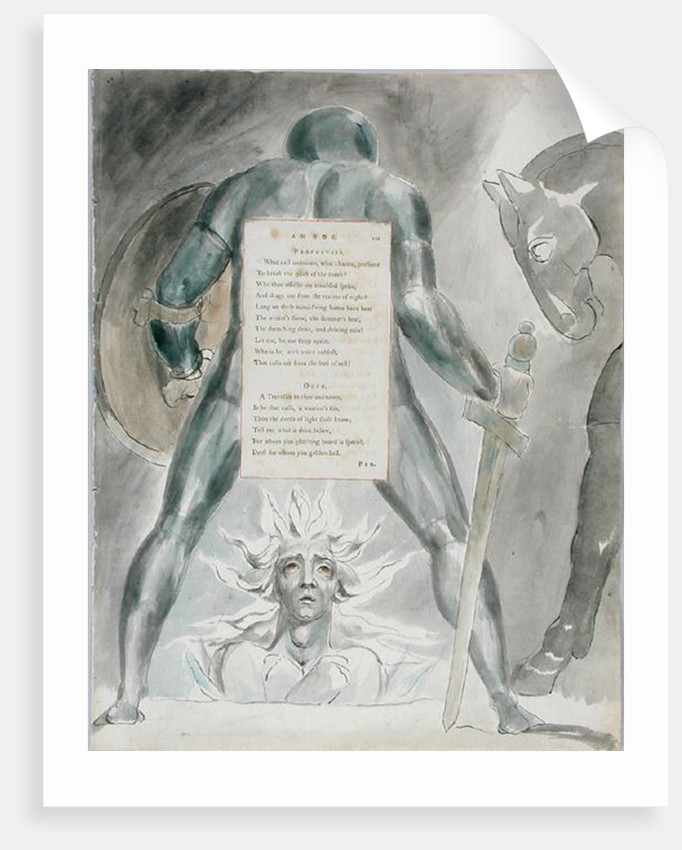 'The Descent of Odin' by William Blake