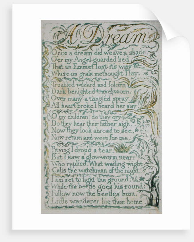 A Dream by William Blake