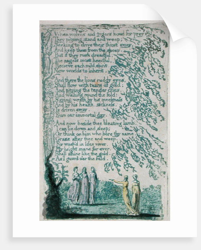 When Wolves and tygers... by William Blake