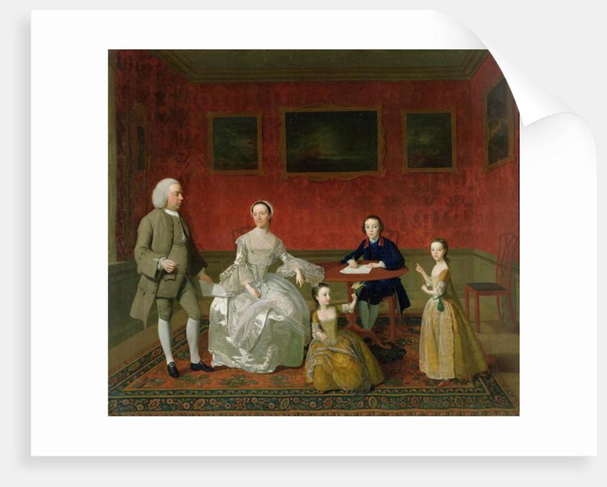The Buckley-Boar Family by English School
