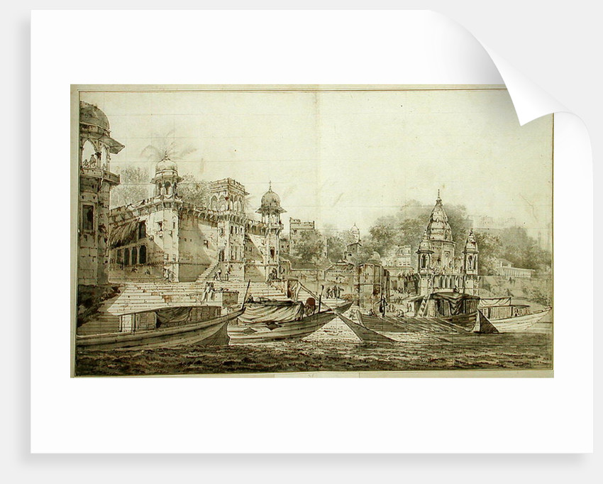 View of Part of the City of Benares by William Hodges
