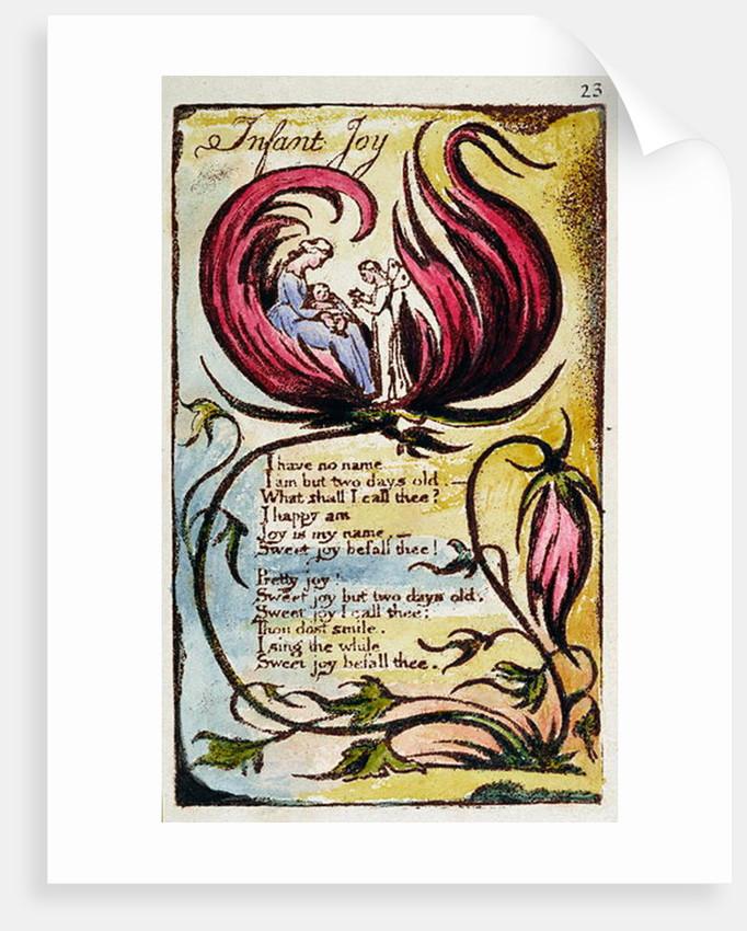 Infant Joy by William Blake