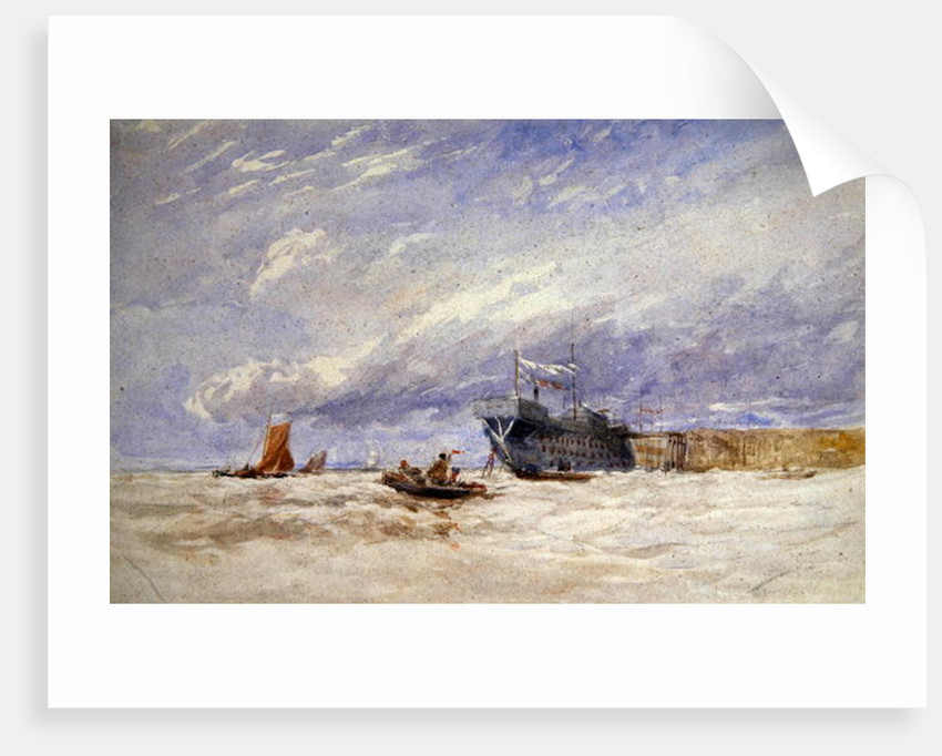 On the Medway by David Cox