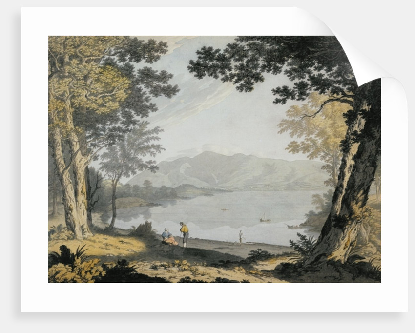 View of Skiddaw and Derwentwater by Joseph Farington