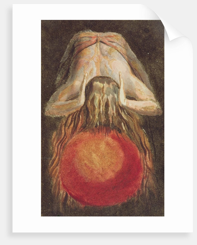 And left a round globe of blood, Trembling upon the Void... by William Blake