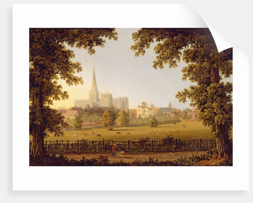 Chichester Cathedral by Joseph Francis Gilbert