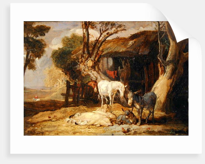 The Straw Yard by James Ward