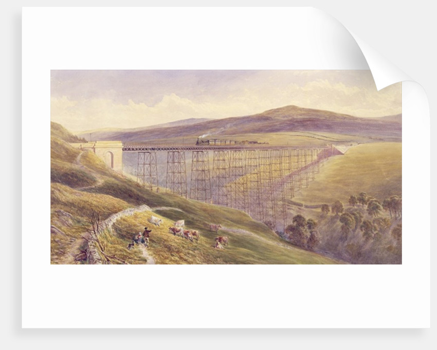 Belah Viaduct by John Osborn Brown