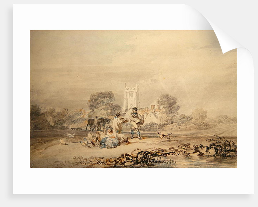 Autumn Sowing of the Grain by Joseph Mallord William Turner
