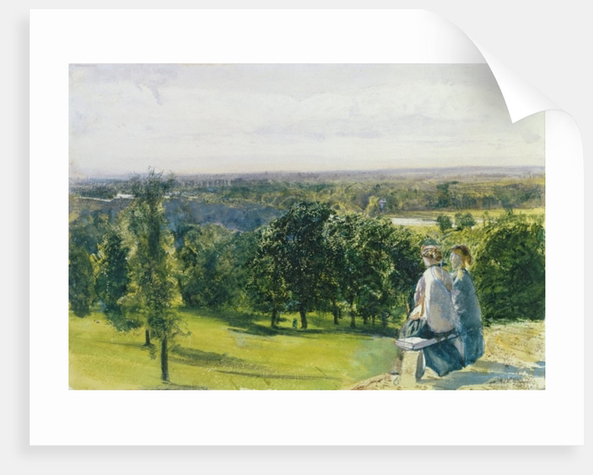 In Richmond Park Posters Prints By John William Inchbold