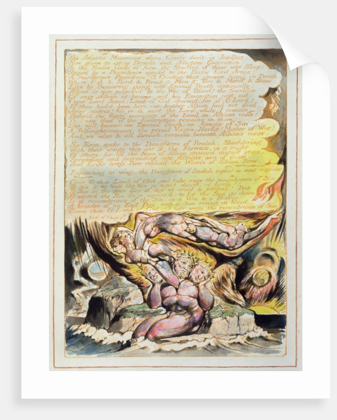 And none but Bromian can hear... by William Blake
