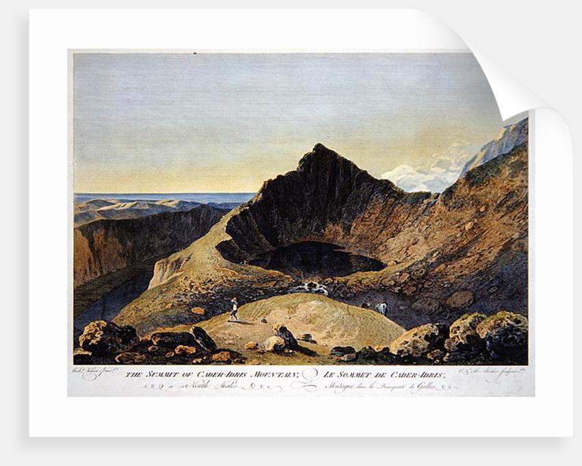 The Summit of Cader Idris Mountain by Richard Wilson