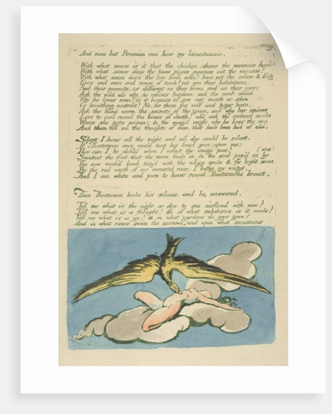 The Deluge by William Blake